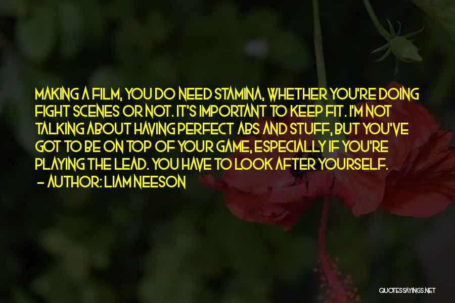 Not Playing Your Game Quotes By Liam Neeson
