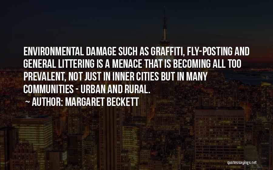 Not Posting Quotes By Margaret Beckett
