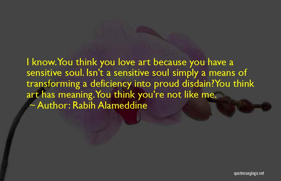 Not Proud Of You Quotes By Rabih Alameddine