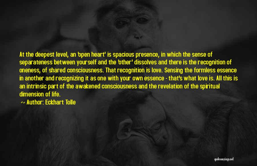 Not Recognizing Yourself Quotes By Eckhart Tolle