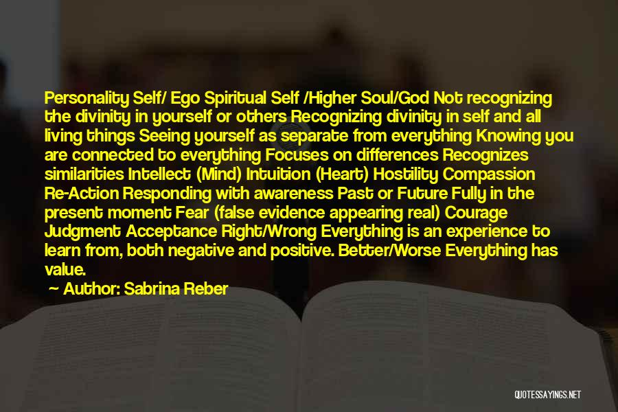 Not Recognizing Yourself Quotes By Sabrina Reber