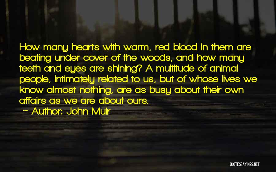 Not Related By Blood Quotes By John Muir