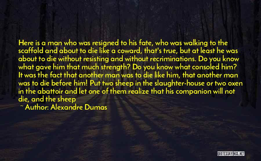 Not Resisting Quotes By Alexandre Dumas