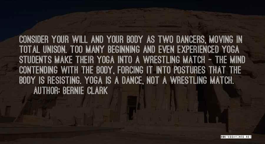 Not Resisting Quotes By Bernie Clark