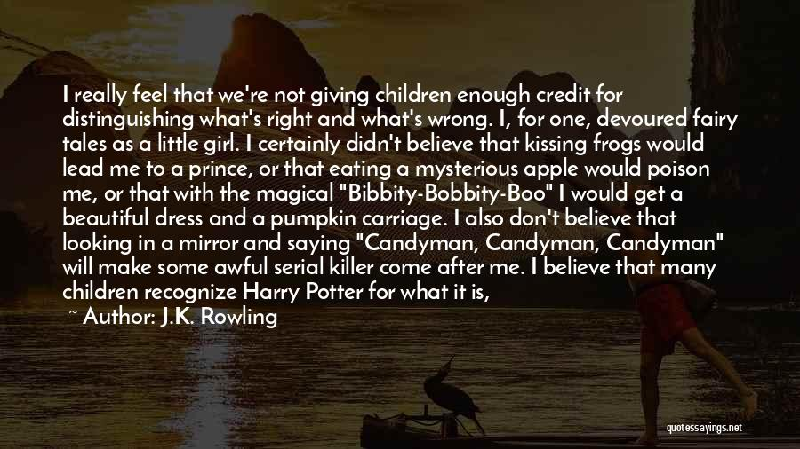 Not Saying How You Really Feel Quotes By J.K. Rowling