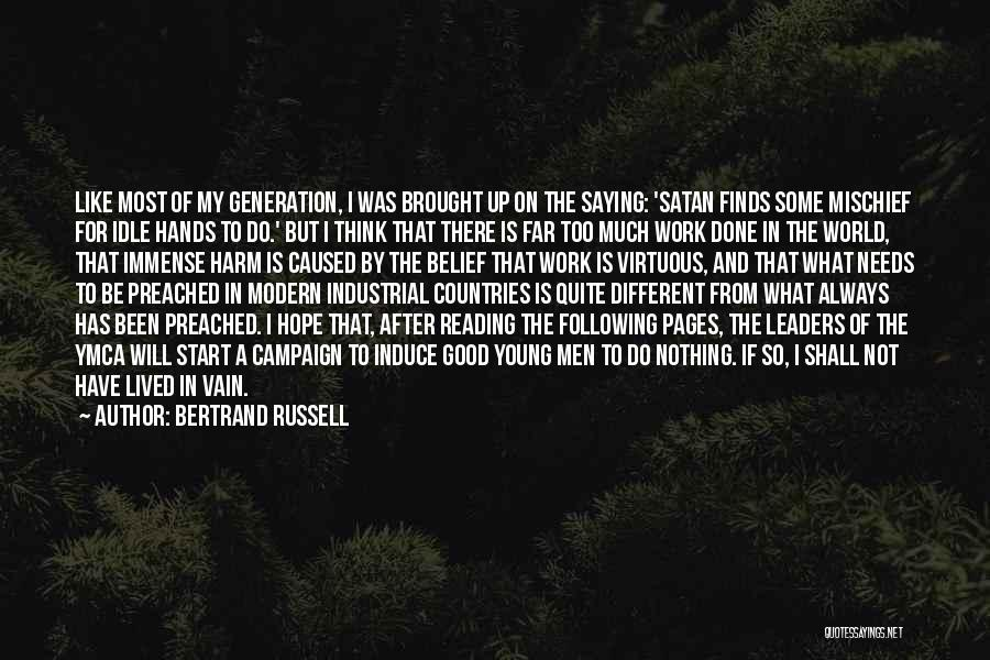 Not Saying Too Much Quotes By Bertrand Russell