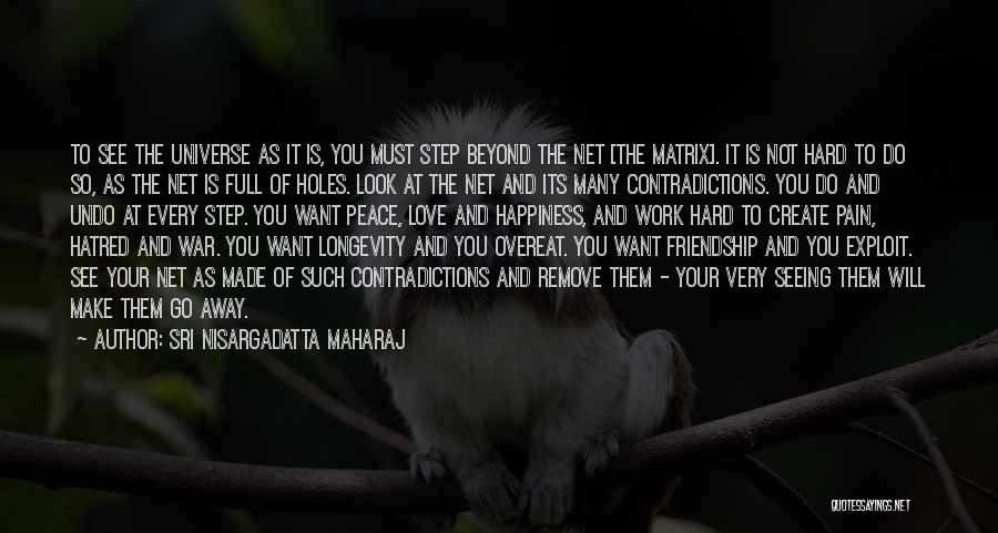 Not Seeing Your Love Quotes By Sri Nisargadatta Maharaj