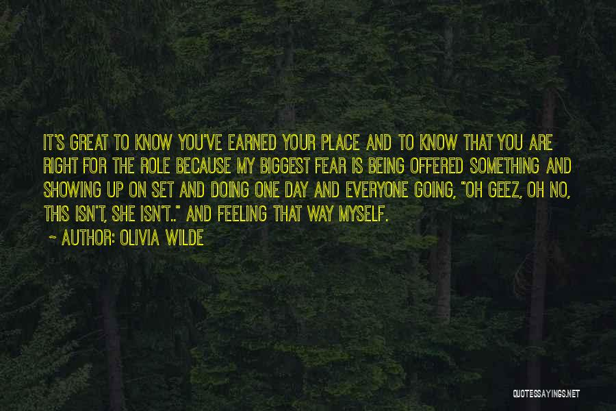 Not Showing My Feelings Quotes By Olivia Wilde