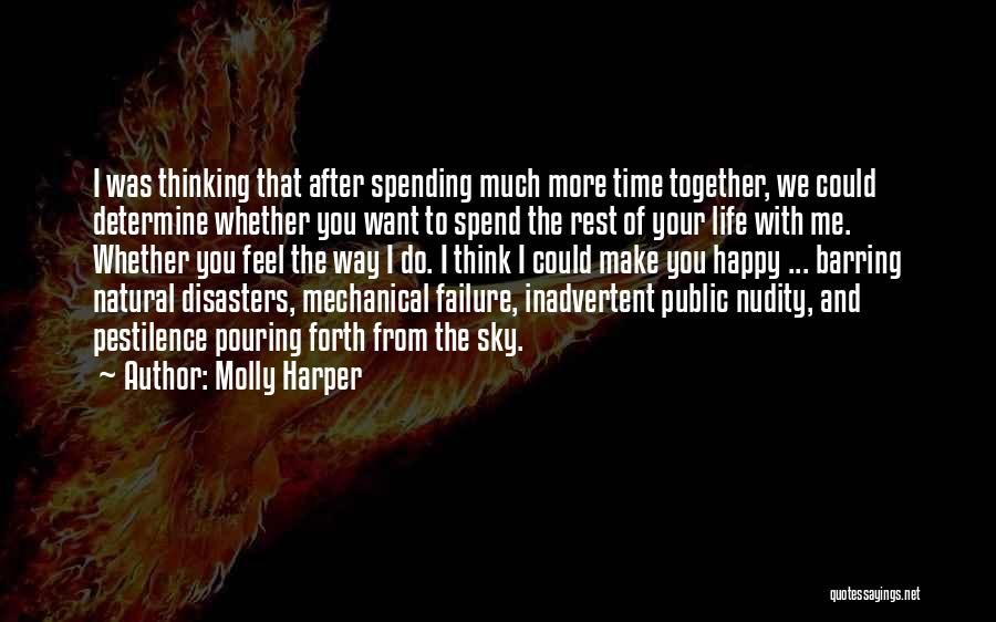 Not Spending Time Together Quotes By Molly Harper