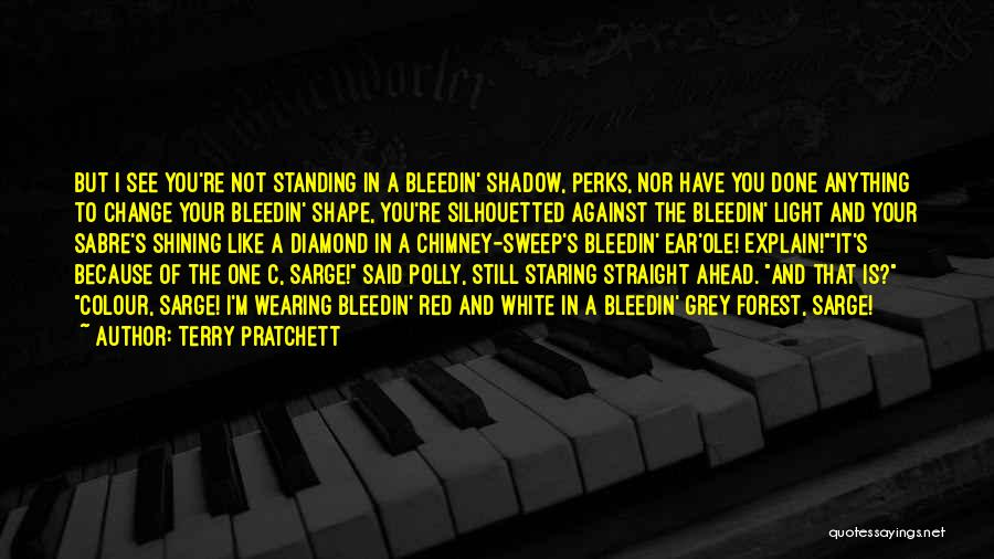 Not Standing Still Quotes By Terry Pratchett