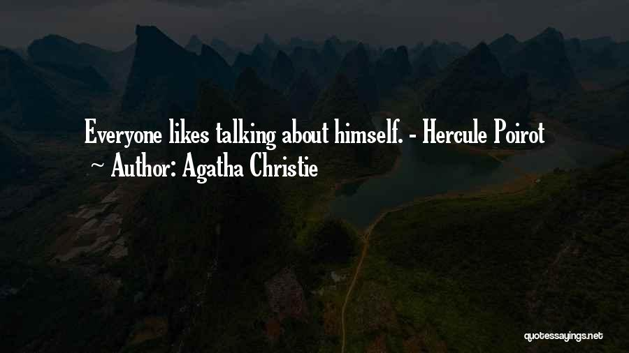 Not Sure If He Likes Me Quotes By Agatha Christie