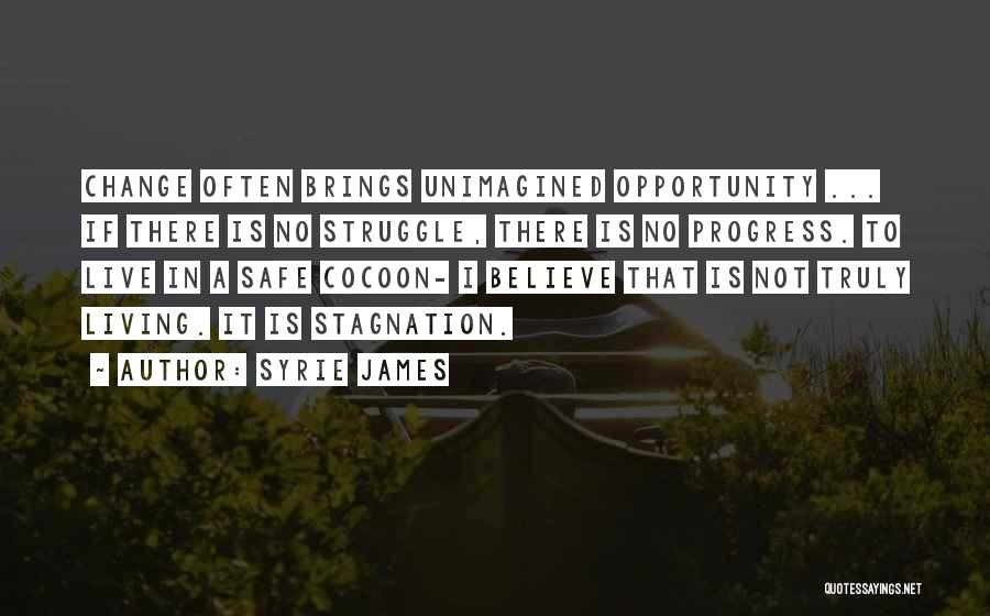 Not Taking Risks Quotes By Syrie James