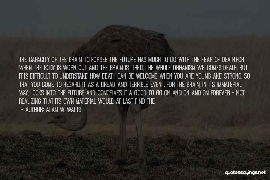 Not To Fear Death Quotes By Alan W. Watts