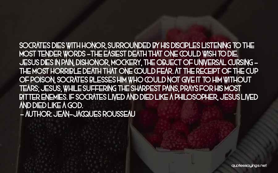 Not To Fear Death Quotes By Jean-Jacques Rousseau