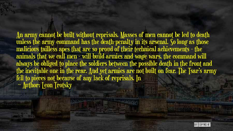 Not To Fear Death Quotes By Leon Trotsky