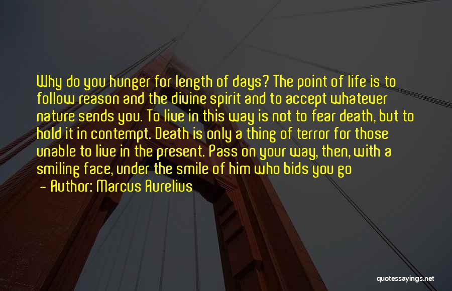 Not To Fear Death Quotes By Marcus Aurelius