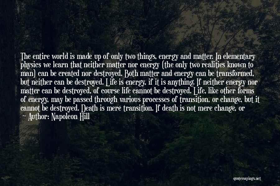 Not To Fear Death Quotes By Napoleon Hill