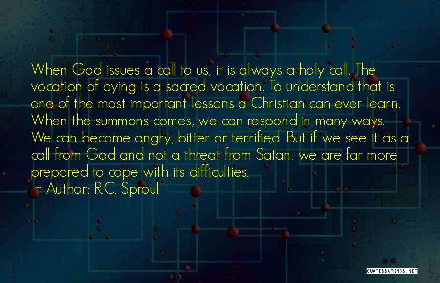 Not To Fear Death Quotes By R.C. Sproul