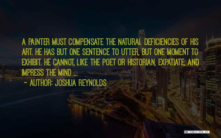 Not To Impress Others Quotes By Joshua Reynolds