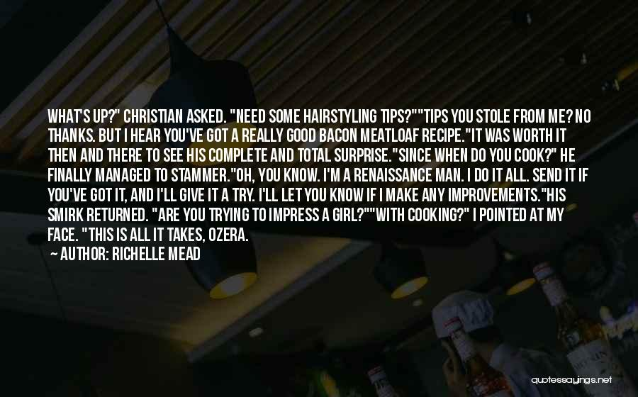 Not To Impress Others Quotes By Richelle Mead