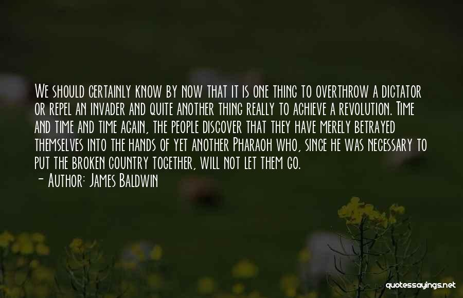 Not Together Yet Quotes By James Baldwin