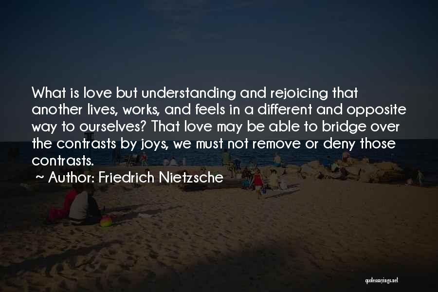 Not Understanding Love Quotes By Friedrich Nietzsche