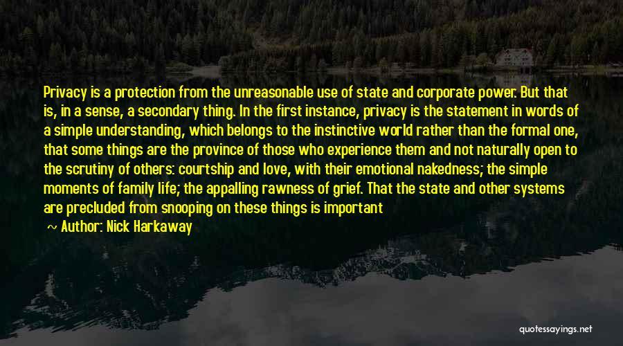 Not Understanding Love Quotes By Nick Harkaway