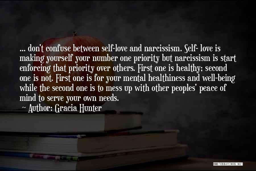 Not Your First Love Quotes By Gracia Hunter