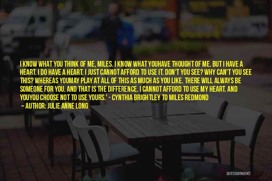 Not Yours Quotes By Julie Anne Long