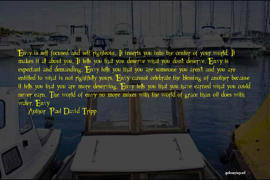 Not Yours Quotes By Paul David Tripp