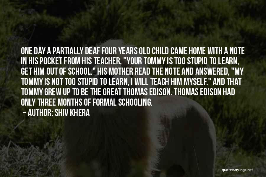 Note Myself Quotes By Shiv Khera