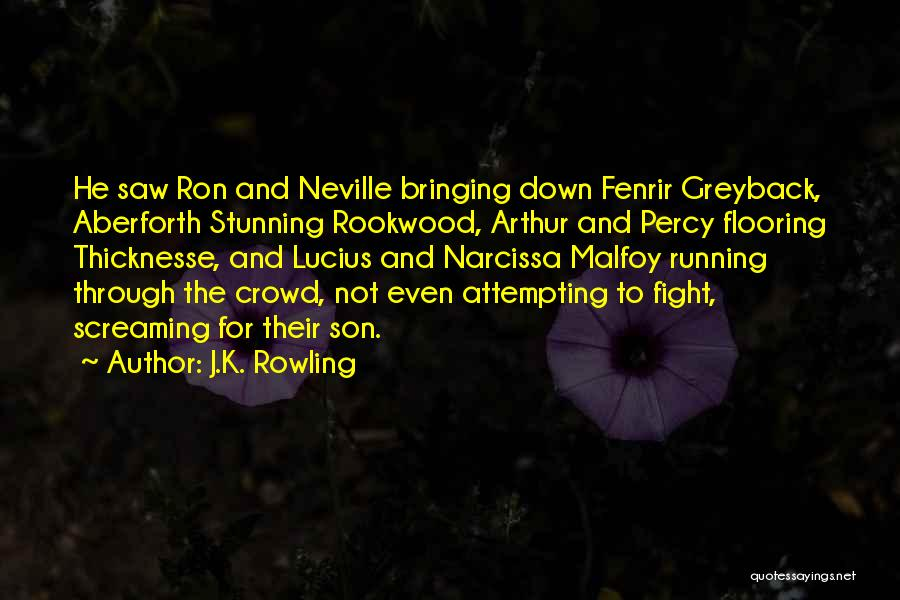 Nothing Bringing Me Down Quotes By J.K. Rowling