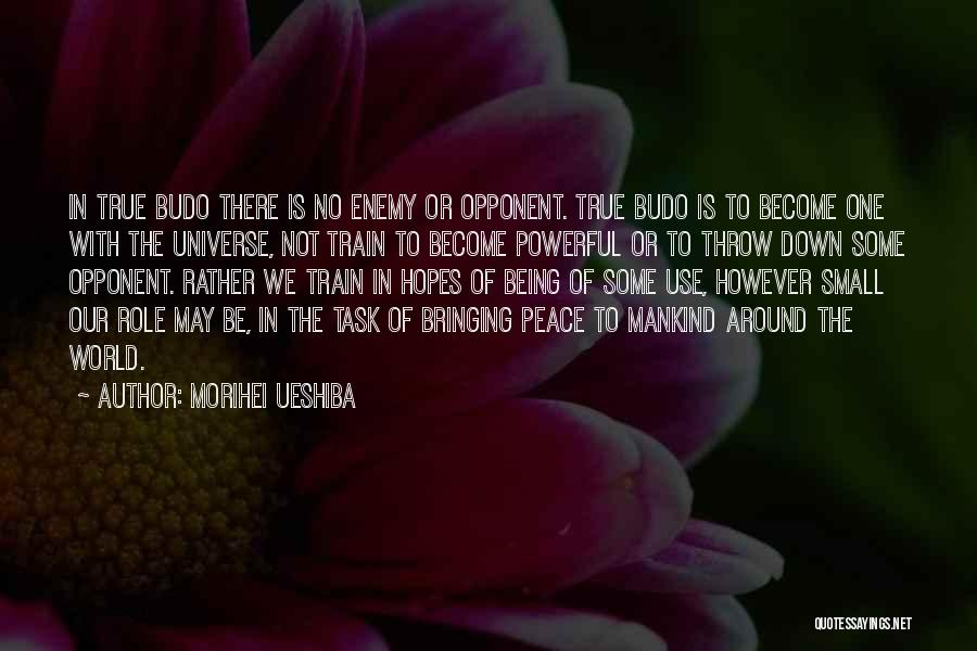 Nothing Bringing Me Down Quotes By Morihei Ueshiba