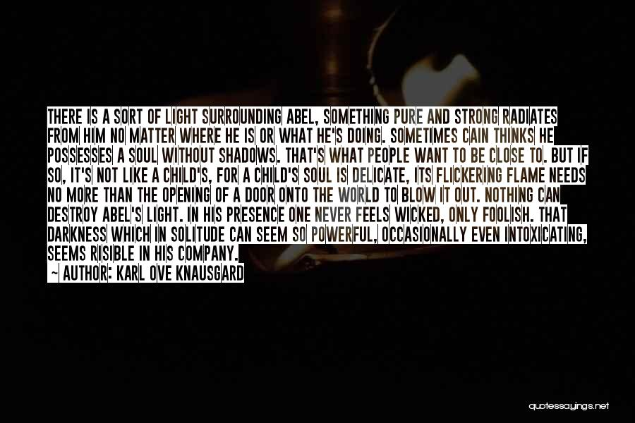 Nothing But Shadows Quotes By Karl Ove Knausgard