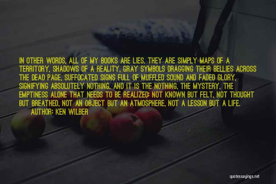 Nothing But Shadows Quotes By Ken Wilber