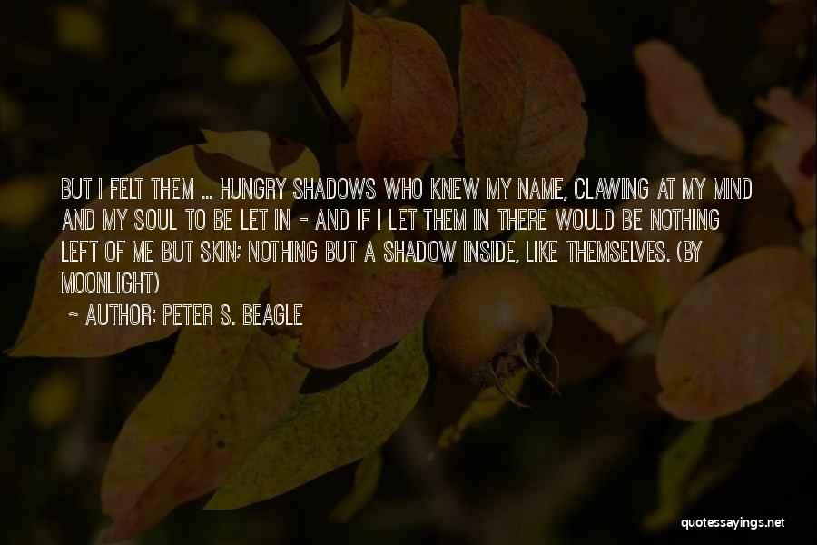 Nothing But Shadows Quotes By Peter S. Beagle