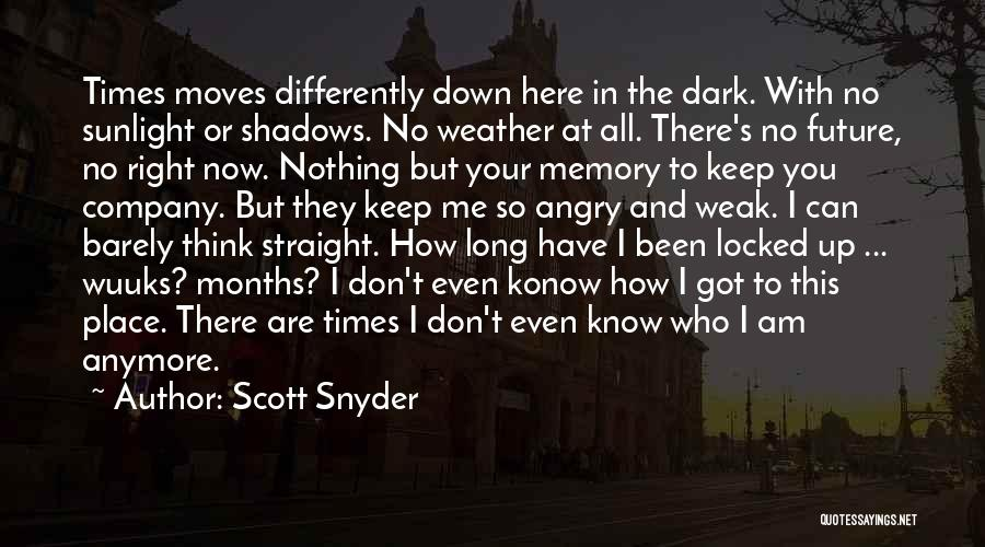 Nothing But Shadows Quotes By Scott Snyder