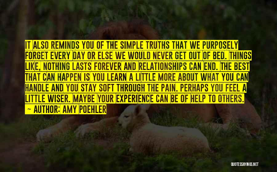 Nothing Can Happen Quotes By Amy Poehler