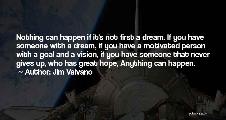 Nothing Can Happen Quotes By Jim Valvano