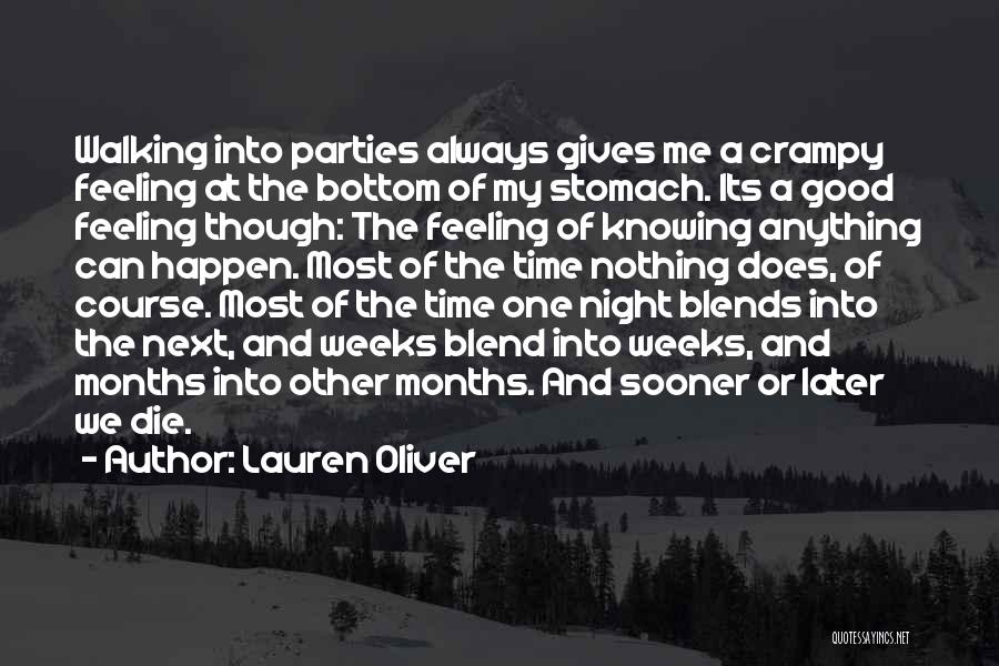 Nothing Can Happen Quotes By Lauren Oliver