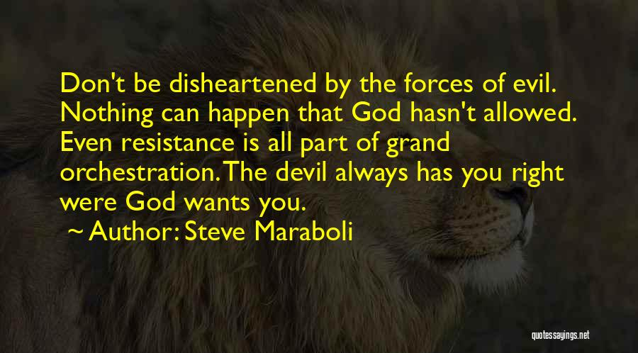 Nothing Can Happen Quotes By Steve Maraboli