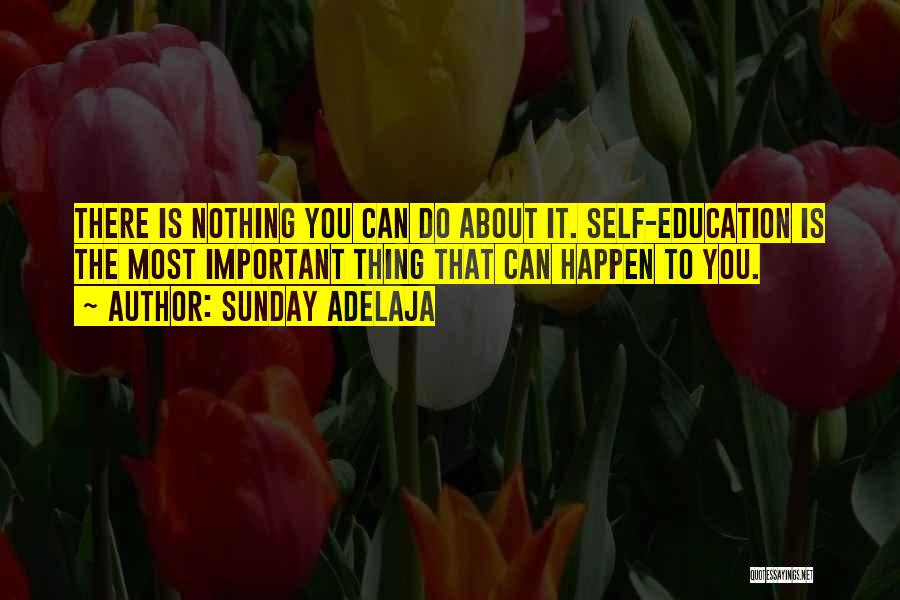 Nothing Can Happen Quotes By Sunday Adelaja