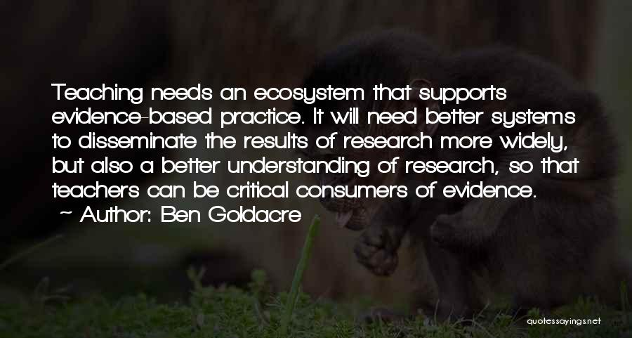 Nothing Ever Gets Better Quotes By Ben Goldacre