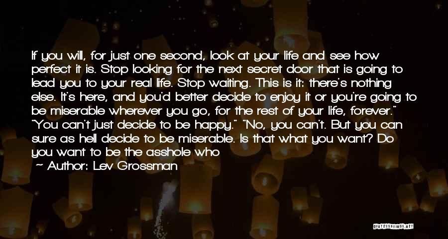 Nothing Going Right In Life Quotes By Lev Grossman