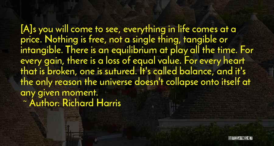 Nothing In Life Is Given To You Quotes By Richard Harris