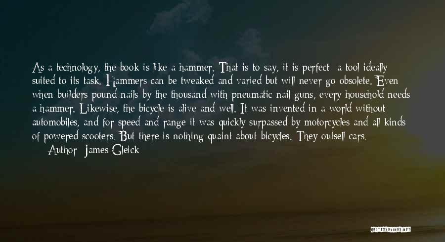 Nothing Is Never Perfect Quotes By James Gleick