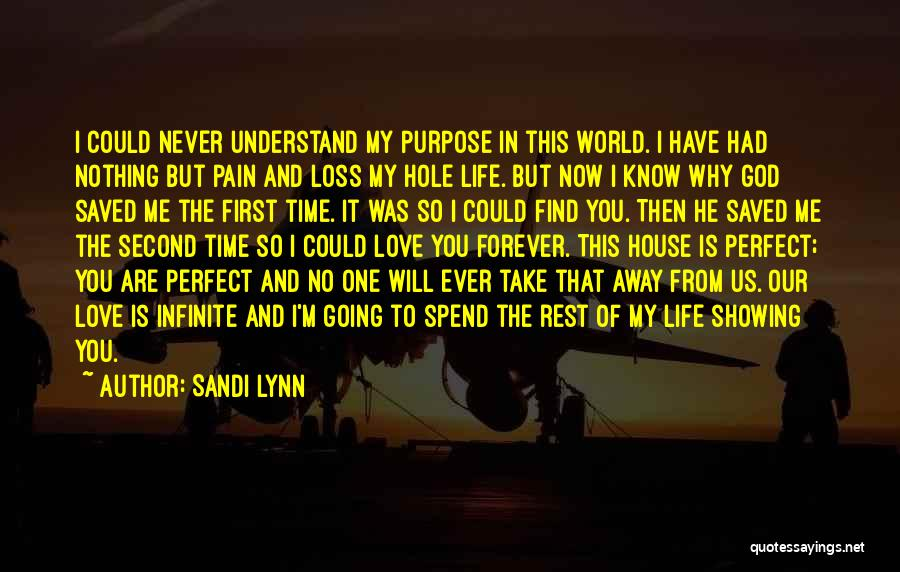 Nothing Is Never Perfect Quotes By Sandi Lynn