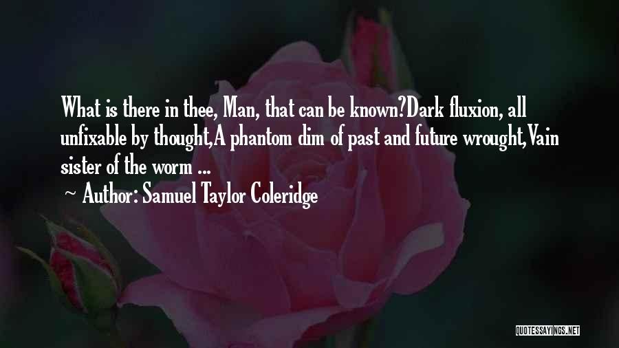 Nothing Is Unfixable Quotes By Samuel Taylor Coleridge