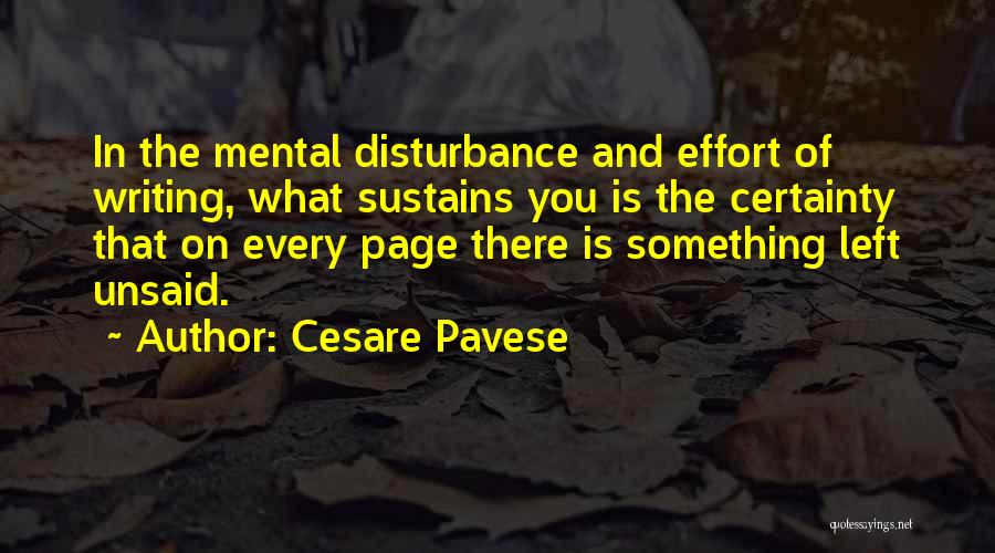 Nothing Left Unsaid Quotes By Cesare Pavese