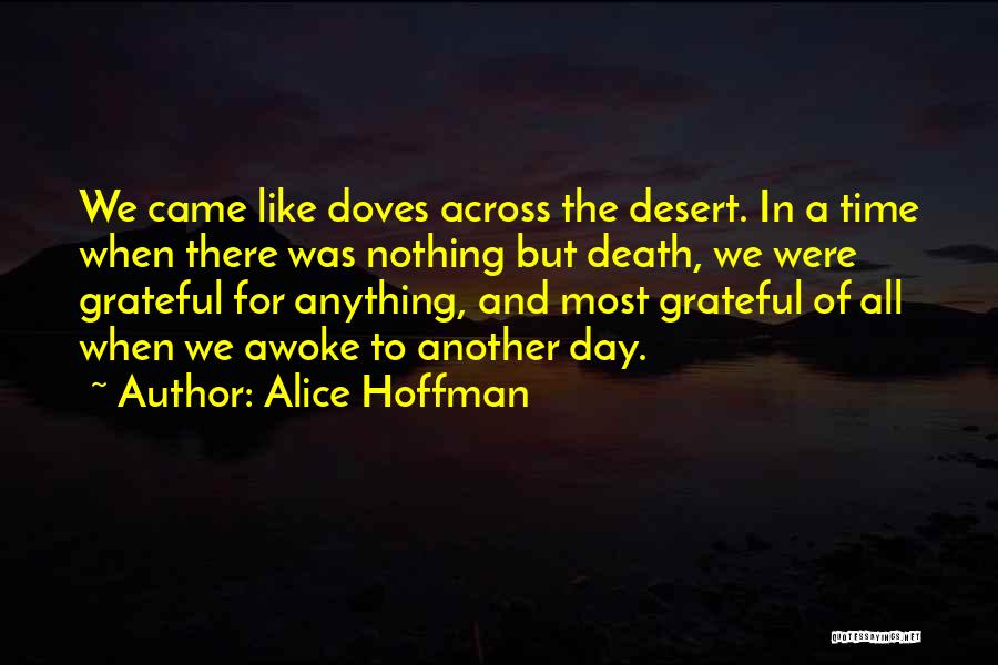Nothing Like Anything Quotes By Alice Hoffman